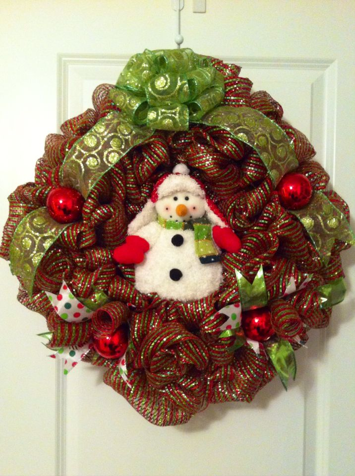 24 best images about Mesh Wreaths on Pinterest