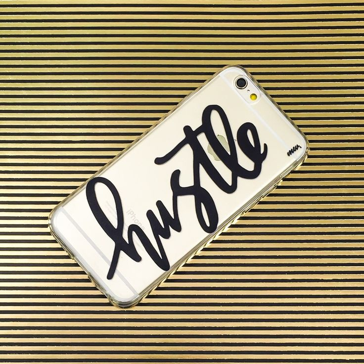 Hustle /////// (Phone case) @milkywaycases #iPhone6s | #iPhone6 | #Galaxy | #SamsungPhoneCases