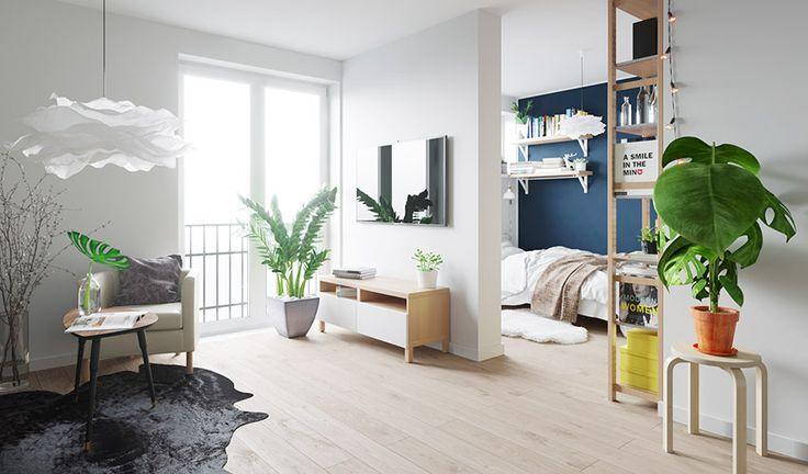 IKEA 家具形塑波蘭 10 坪現代單身公寓 - DECOmyplace 新聞
