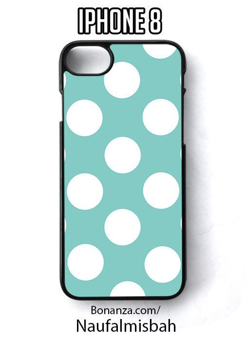 Tiffany Polka Dots iPhone 8 Case Cover - Cases, Covers & Skins