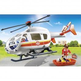 Hélicoptère médical Playmobil City Life 6686