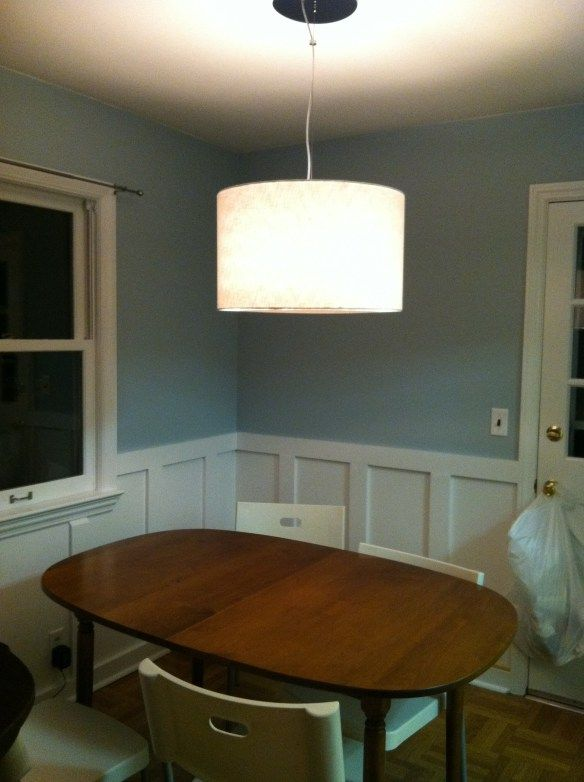 how to diy wainscoting wainscotingbasement ideasdecorating tipsdining - Flat Panel Dining Room Decorating