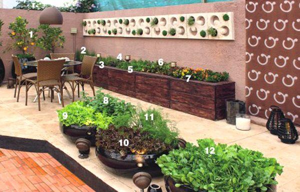 laterais do muro da casa com horta - Pesquisa Google