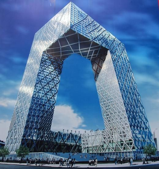 The new headquarters of China Central Television (CCTV) is an iconic anti-skyscraper that, along with other masterpiece designs delivered in time for the 2008 Beijing Olympics, has changed the architectural image of China's capital city.