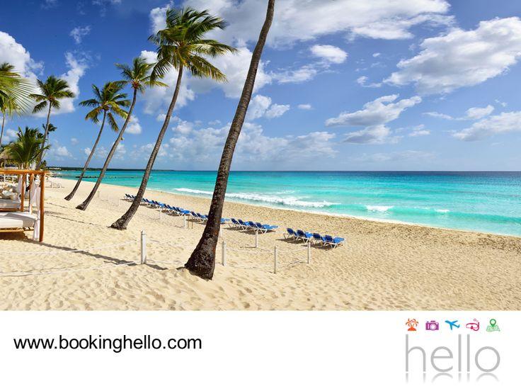 VIAJES DE LUNA DE MIEL. República Dominicana es el segundo país más grande del Caribe. La belleza y calidad de sus playas se debe a su privilegiada ubicación geográfica y su clima va de los 19°C a lo 34°C la mayor parte del año, perfecto para tener una luna de miel espectacular. En Booking Hello ponemos a tu disposición las mejores tarifas del mercado para que tú y tu pareja, disfruten de un viaje de bodas all inclusive en las playas dominicanas. #lunademielconhello