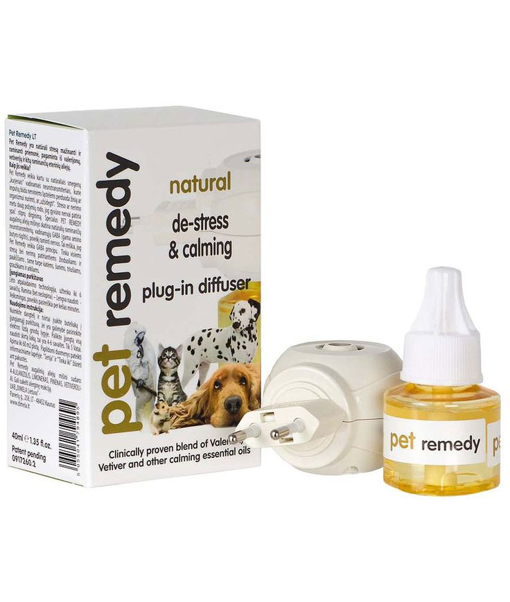 Pet Remedy De-stress & Calming 40 ml + Doftspridare - Feliway - Pet Remedy - Kattillbehör - DjurMaxi.se
