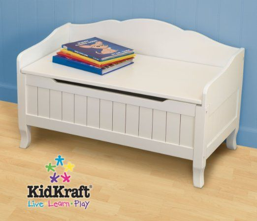 Amazon.com: Kidkraft Nantucket Toybox with Out Cushion: Toys & Games