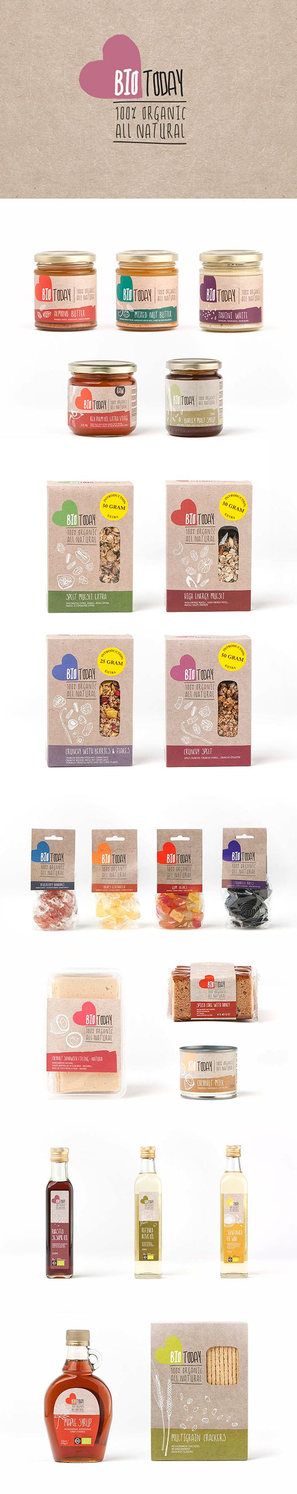 Identity & Packaging for BIO Today. Designed @ maan.nl concept & creatiion. Branding, Graphic, Design, Packaging  PD