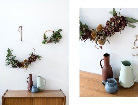 Der+Restekranz+–+Vom+Blumenstrauß+zum+selbstgemachten+Herbstkranz