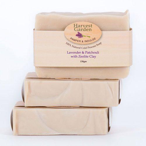 Lavender, Patchouli & Zeolite Clay Soap