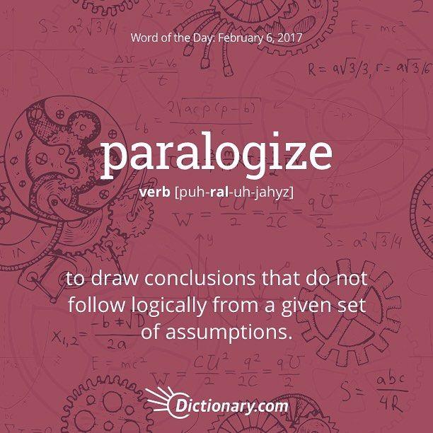 paralogize