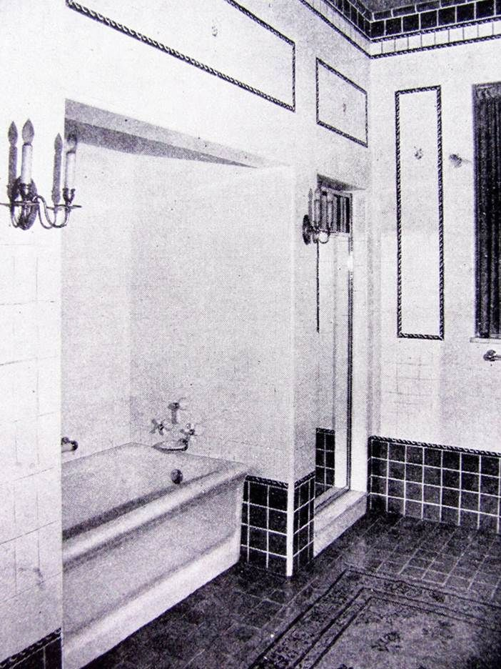 16 best bungalow bathrooms images on pinterest bathroom for Bathroom 1920s style