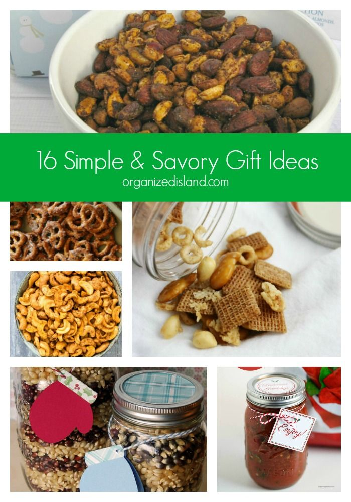 16 Simple Savory Gift Ideas Great Home Baked Gift Ideas