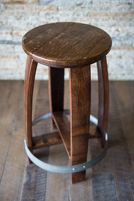 Best 25 Wine Barrel Bar Stools Ideas On Pinterest