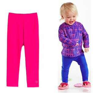 Coolibar Swim Tights. Spare yourself from baby sunburns and those awesome sand-filled diapers.