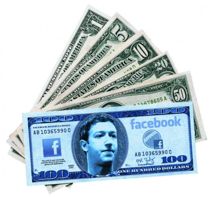 Facebook Bank - Spazio ai Bit Coin