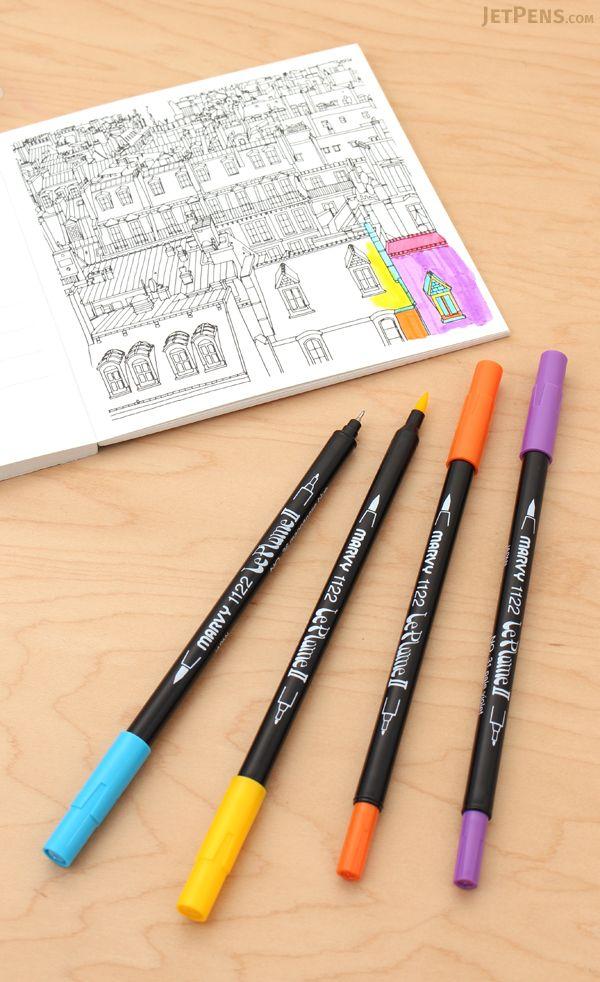 21 best adult coloring tools images on pinterest adult coloring rh pinterest com BIC Felt Tip Pens Good Felt Tip Pens