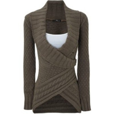 Fall- love this wrap sweater