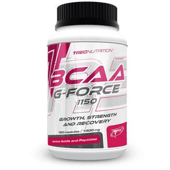 BCAA G-FORCE: Innowacyjny matrix BCAA i L-Glutaminy   Innowacyjny matrix BCAA i L-Glutaminy Kompleksowe wspomaganie dla mięśni Wysoka koncentracja aminokwasów