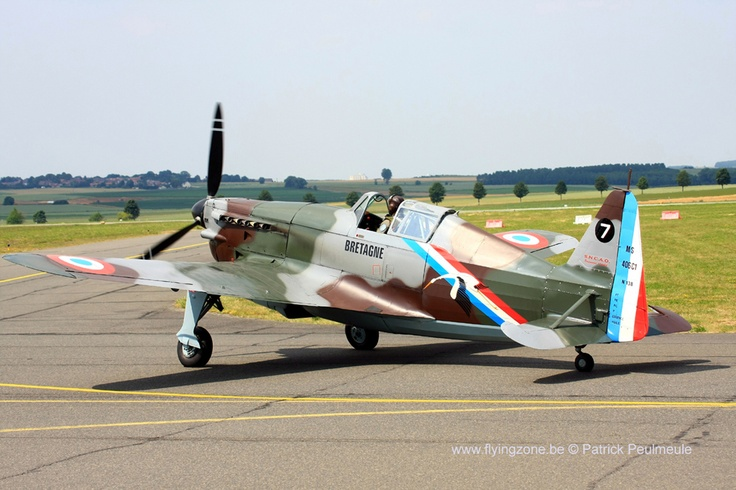 Moraine-Saulnier/FFW D3801 (HB-RCF) based at Bex, Switzerland. Painted in the…