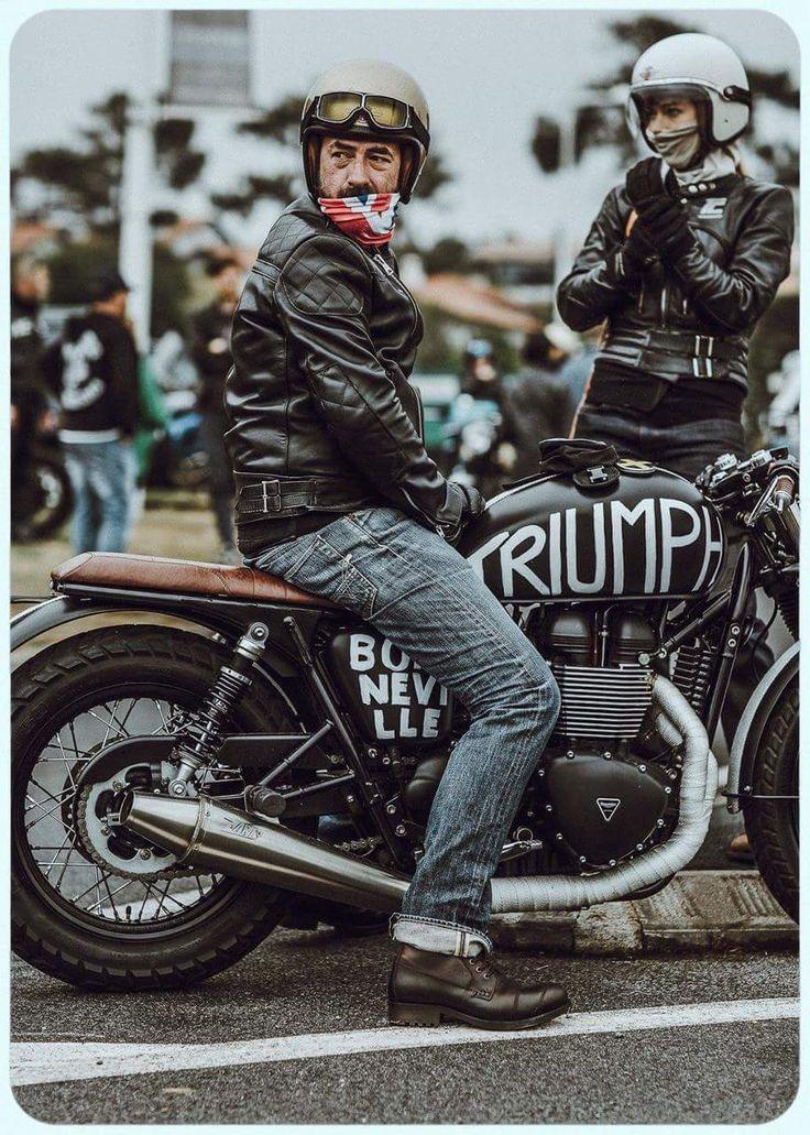 Triumph Bonneville #caferacer discover #motomood