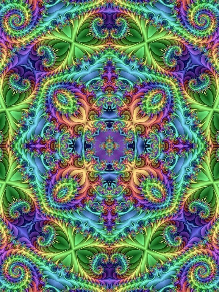 ,Purples-blues-greens beutiful
