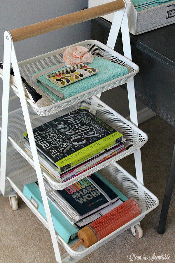 best 25 desk organization tips ideas on pinterest diy room organization desk organization. Black Bedroom Furniture Sets. Home Design Ideas