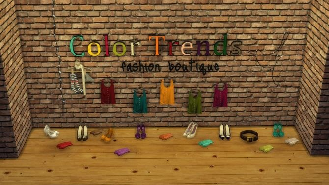Boutique deco 4 at leo sims sims 4 updates sims 4 room for Boutique deco