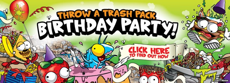 Trash pack Birthday party!