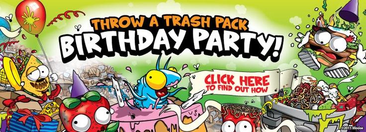 Trash pack Birthday party!