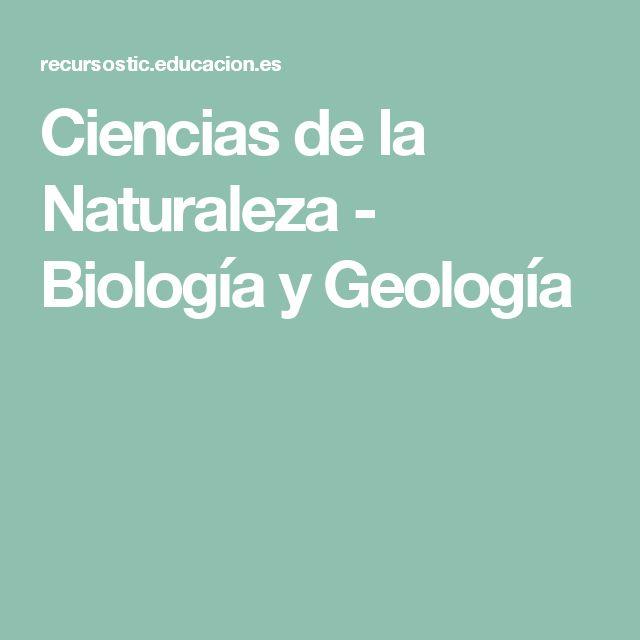 Ciencias de la Naturaleza - Biología y Geología
