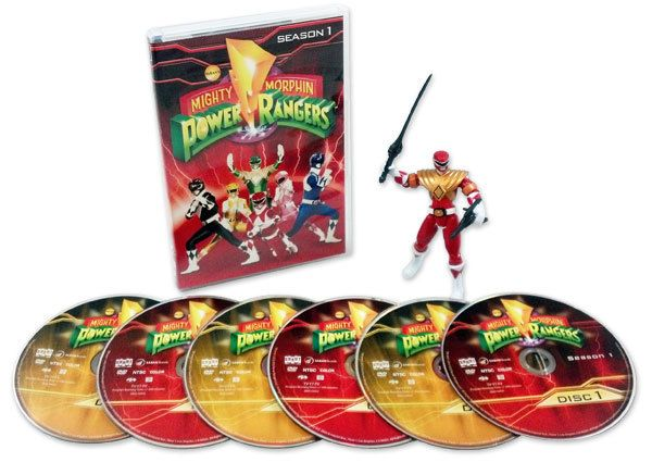 Mighty Morphin Power Rangers: Season 1 (Time Life Set with Action Figure)
