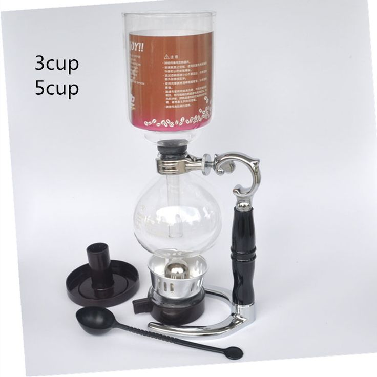 High quality 3 cups 5 cups glass siphon pot / vacuum coffee maker filter coffee pot coffee filter tools and gifts