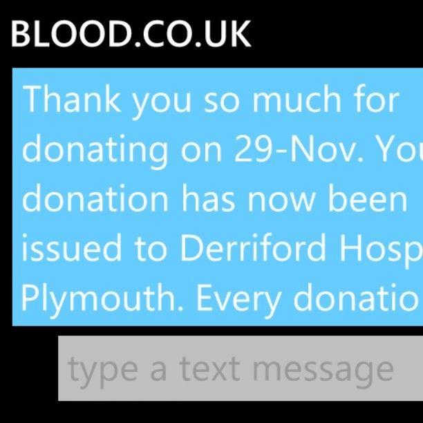 Yay  #blooddonation