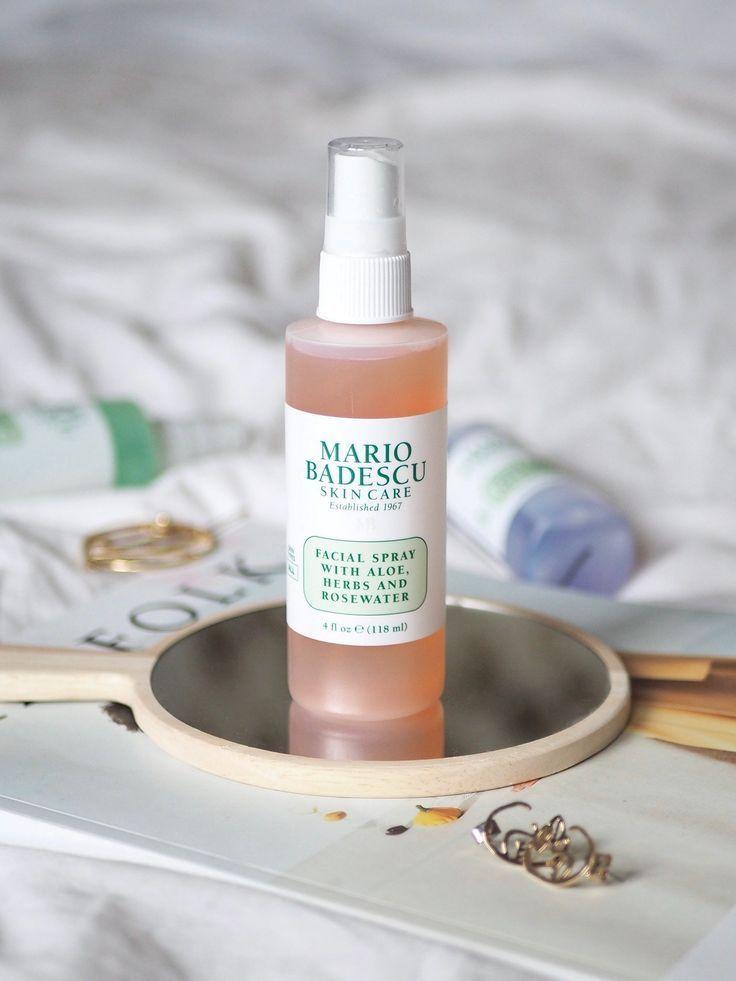 Mario Badescu Facial Spray Natural Hair Mask Skin Care