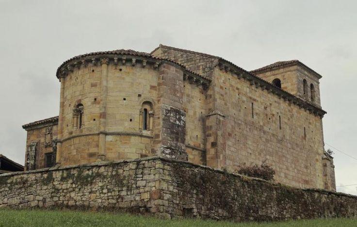 Argomilla de Cayón - Iglesia románica de San Andrés