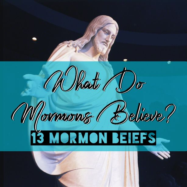 There are many rumors and misconceptions that float around about what Mormons believe. Here are 13 Mormon beliefs that will help set the rec...