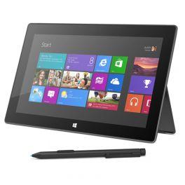 """Microsoft Surface Pro 128 GB. Produttore processore: Intel. RAM installata: 4 GB. Capacità memoria interna: 128 GB, Tipi schede di memoria: micro SDXC. Dimensioni schermo: 26,92 Cm (10.6 """"), Risoluzione: 1920 x 1080 Pixels, Tecnologia touch: multi-touch. Famiglia della scheda grafica: Intel, Adattatore grafico: HD Graphics 4000. Il prezzo? Clicca sull'immagine all'interno!"""