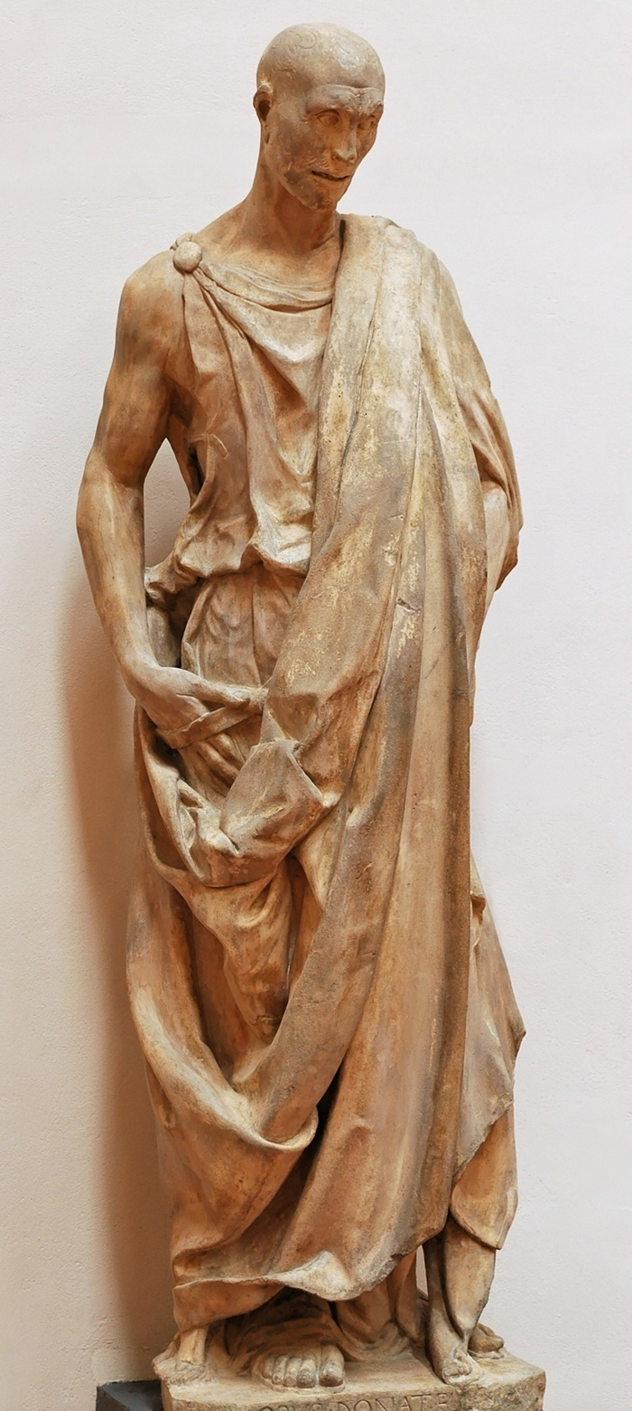 by Italian Renaissance sculptor Donatello (1386 - 1466)