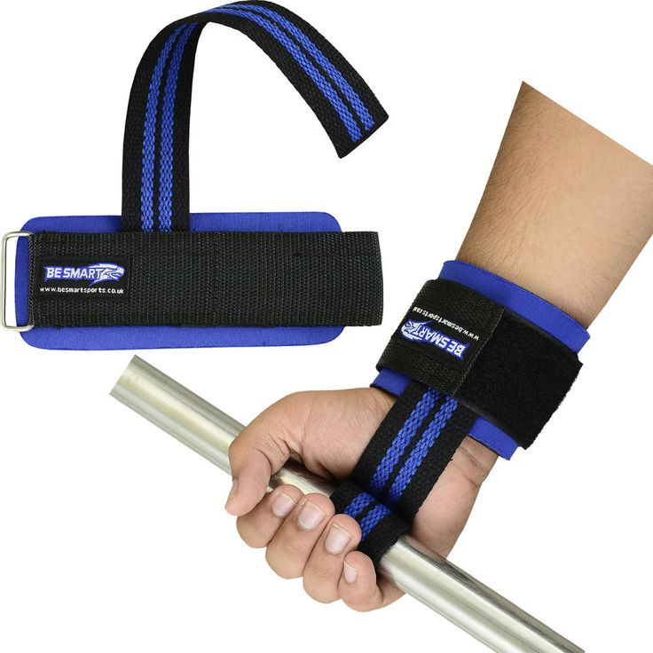 Weight Lifting Training Gym Straps Hand Bar Wrist Support Gloves Wrap cotton new
