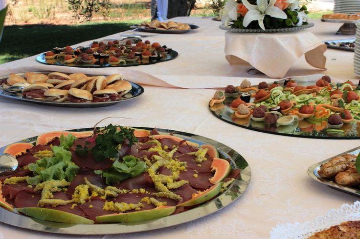 Buffet Detail - #masseria #ristorntelecapriate #food #wedding #ceremony http://masseriacordadilana.it/