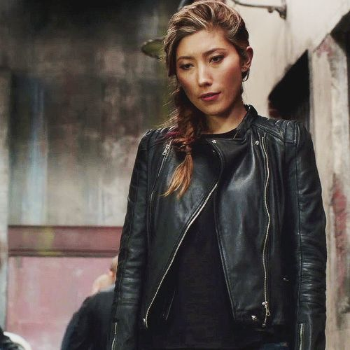 leather jacket and jawline appreciation post ... - raven reyes