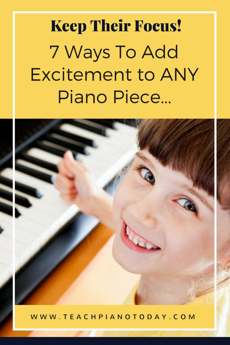 7 ways to make any piano piece more exciting