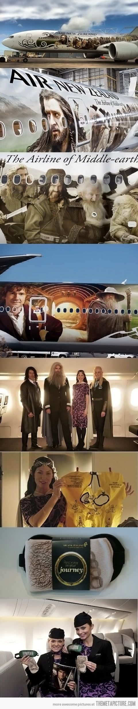 """Did you know the hobbit movie was taken place in New Zealand in a place called hobbiton I think or something like that .anyway a """" Unexpected journey """" was filmed there for all the hobbit and lord of the rings fans like me!"""