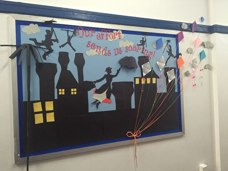 Mary poppins bulletin board