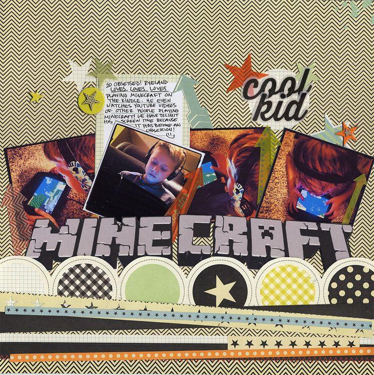 Minecraft+Obsession - Scrapbook.com