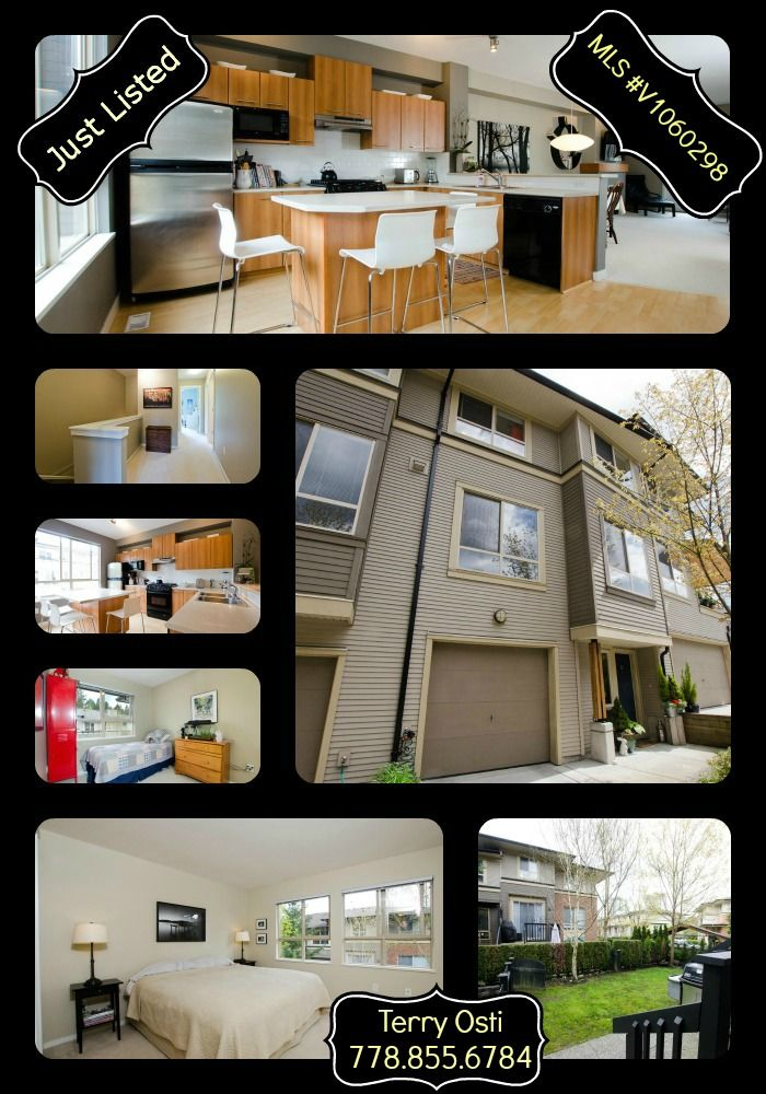 INDIGO in Gorgeous Port Moody MLS #V1060298 PRICE: $539,900 Bedrooms: 3 Bathrooms: 3 Square Footage: 1540