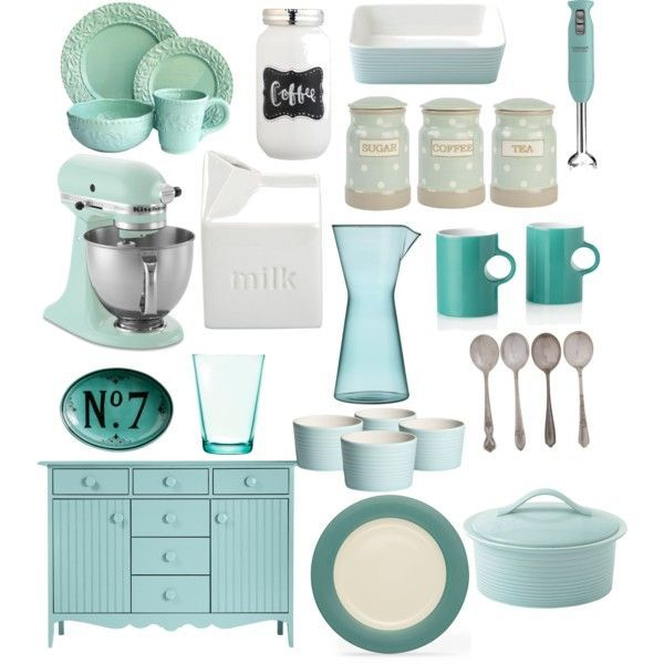 charming Tiffany Blue Kitchen Appliances #4: Pinterest