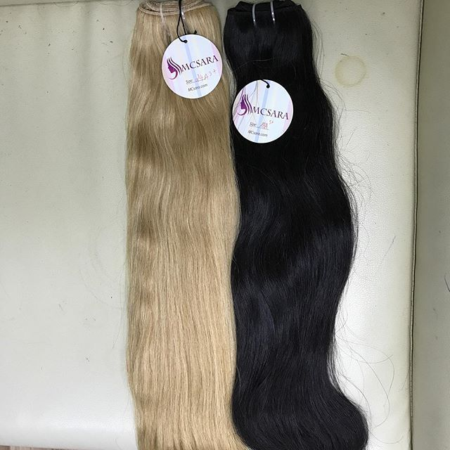 WEFT HAIR BUNDLE HAIR DYED HAIR BLACK FABRIC …