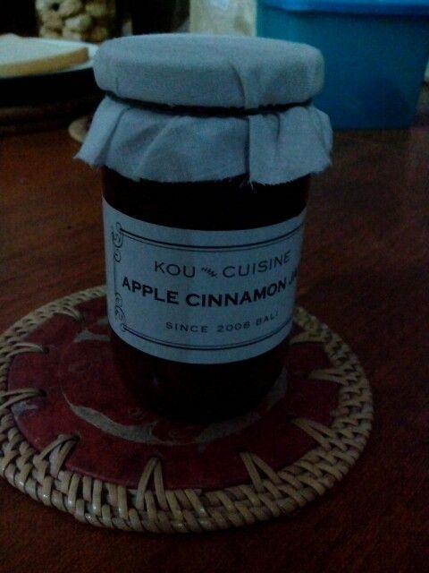 Kou Cuisine - handmade jam - ubud